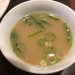 東園 - スープ接写