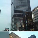 種よし - 天王寺駅周辺。超高層ビル「あべのハルカス」がにょきにょきと立ち上がり、大規模商業施設「キューズモール」もできてずいぶんと風景が変わりました
