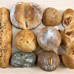 パンテーブル - 今回買ったパン