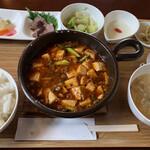 中国酒菜 華 - 本格麻婆豆腐ヾ(^。^*)~¥980円
