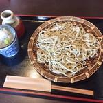 くろつぼ - 料理写真:粗碾き十割そば