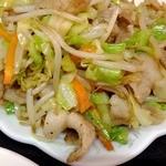 中華&洋食 コタン - 豚肉があまーい旨味の肉野菜炒め