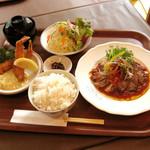 金閣寺 いただき - 料理写真:ディナータイム 選べるセットメニュー 1280円より