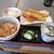 うさぎ庵 - 料理写真:「えび天盛りセット」
