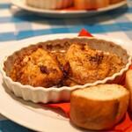 トラットリア カルネジーオ - 鶏胸肉のバター焼き