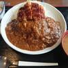 どん平 - 料理写真:カツカレー 980円