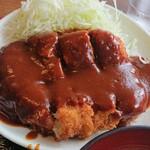 どん平 - セット定食 トンカツ