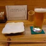 掌 - 生ビール(600円)