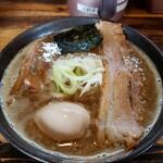 赤羽京介 - 京介魚介ラーメン 780円 味玉 100円