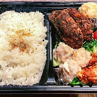 麺や! サンポルコ  - 料理写真:[テイクアウト]サンポル弁当