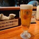魔乃巣 - ハートランド生ビール500円