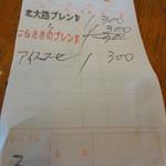 はしもと珈琲 - 京都らしいネーミングのブレンド