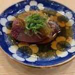 治鮨 - 鰹の漬け