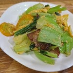 132049303 - チャーシューと野菜の玉子炒め