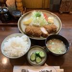 とんかつ藤 - ロースかつ定食('20/06/24)