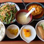 栄盛 - 青椒肉絲定食