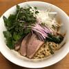 中華ソバ ビリケン - 料理写真:「持ち帰り鴨と鶏の油ソバ」900円 ※三つ葉、ネギ、スプラウトは自前