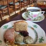 寿樹 - 料理写真:焼菓子色々(フィナンシェ、meme♡抹茶ポルボロン、パウンドケーキ)