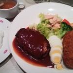 洋食屋さん - ランチA¥850