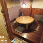 地球畑カフェ 草原をわたる船 - ロフト席下段