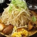 ロクゴーガッツ - やたら肉魂 野菜ニンニク増 味噌