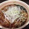 狭山そば - 料理写真:白髪葱トッピングいわゆる葱だく(^。^)