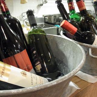 15種類のワイン飲み比べ
