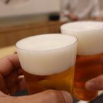 132076516 - 生ビールで乾杯