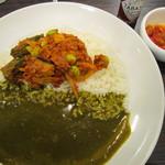 CoCo壱番屋 - 2012/5 13種類の野菜の恵みぜいたくWキーマカレー