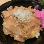 13208986 - 豚玉とじカルビ丼