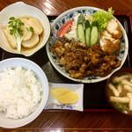 あけぼの - 料理写真:豚生姜焼き定食