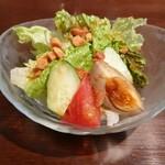 Chuugokusenkashanrin - セットのサラダ