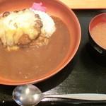 キャプテンぶぅひぃず - チーズハンバーグカレー・780円