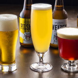 魚沼クラフトビール「RYDEEN」の生ビール全種が飲める店