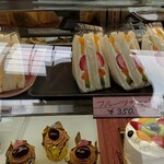 ケーキサロン ハマヤ - サンドイッチも