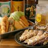 秀吉 - 料理写真:串カツ+焼き鳥