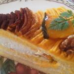 GROSVENOR CAFE - かぼちゃのモンブラン