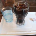 るの亭 - アイスコーヒー(250円)