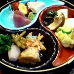 土井親方のこだわり料理 縁 - 旬菜ランチ¥1000