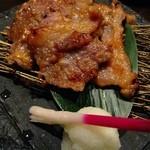 なかなか - ■小江戸黒豚の味噌漬け焼き