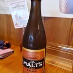 Herb Diner & Bar ジャックポット - MALT'Sのこんな瓶ビール初めてみました