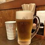 うどんダイニング Yoshi - 生ビール