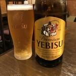 うどんダイニング Yoshi - 瓶ビール