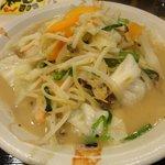 福来る - 料理写真:おすすめの野菜たっぷりチャンポン600円