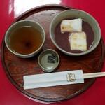 赤福 - 料理写真:赤福ぜんざい(530円)