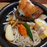 はんばあぐ處 ぎんごんちゃん。 - 料理写真:おろしがたっぷりで和風ソースのハンバーグ