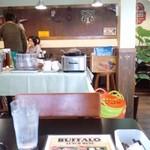 バッファロー - スープはセンターテーブルからセルフで