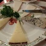 カサ・ベリヤ - チーズ盛り