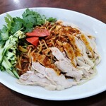 132124592 - 今年の棒棒鶏冷麺!