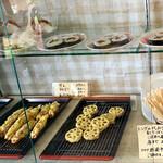 とらや - 天ぷら おにぎりもセルフ